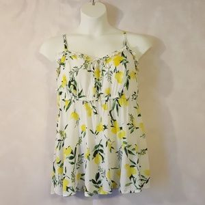 Torrid Baby Doll Lemon Tank